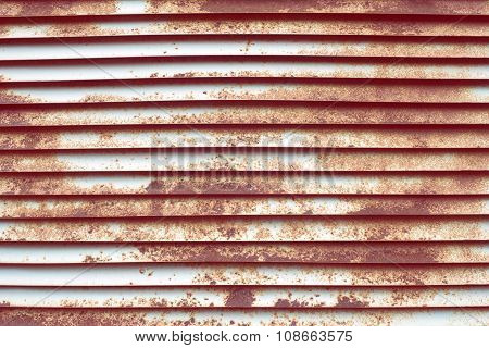 Rusty Louver Fragment