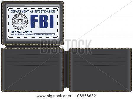 Wallet Fbi Special Agent