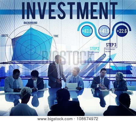 Investment Budget Business Costs Finance Concept