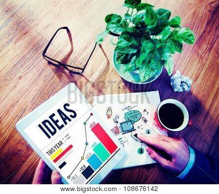 Ideas Innovation Creativity Inspiration Information Concept