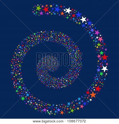 Salute Star Spiral