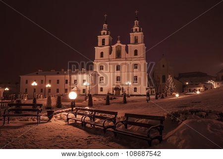 Minsk in winter