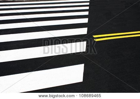 Pedestrian Crossing Or Zebra