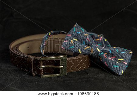 Bow tie and Belt