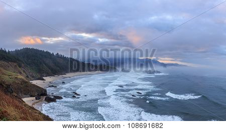 View to Cannon Beach from Ecola State Park