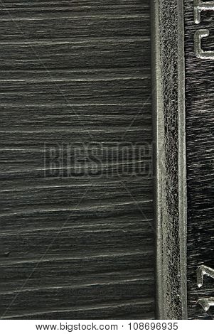 metal at wooden background texture