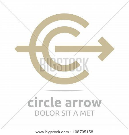 Design Logo Circle Arrow