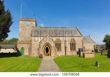 St Marys church Hemyock Blackdown Hills east Devon England UK