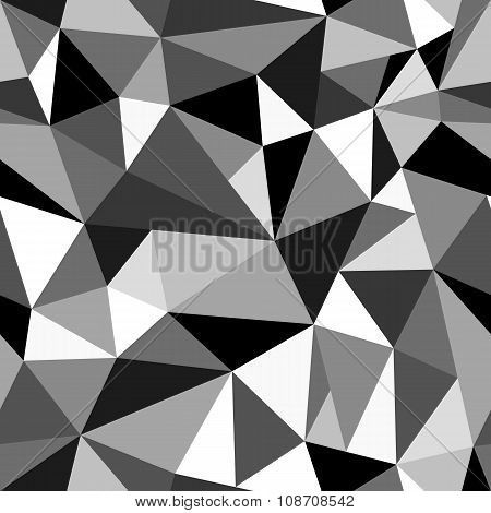 Abstract Geometric Rumpled Triangular Graphic Background