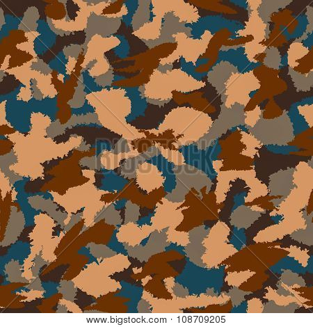 Mountain Mixed Camouflage Seamless Pattern. Can Be Used For Wallpaper, Pattern Fills, Web Page Backg