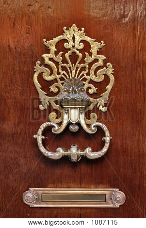 Stylish Doorknocker