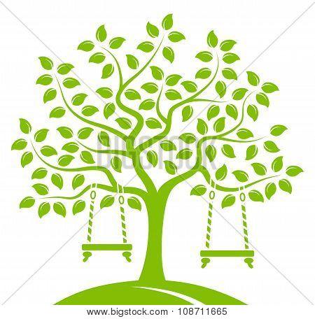 Tree With Swings