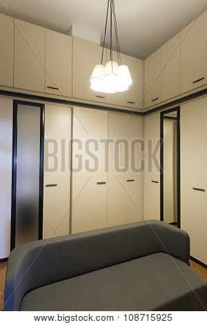 Modern Closet Room Interior