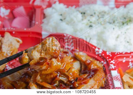 Japan Food Of Grilled Chicken