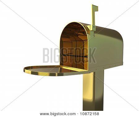 Gold Mailbox