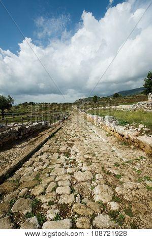 Norga Ancient City Of Latium, Italy