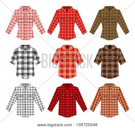 Lumberjack check shirt lumberjack old fashion patterns