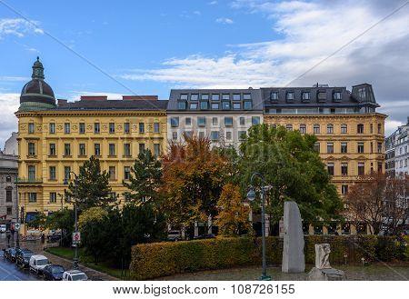 Albertina museum square, Vienna