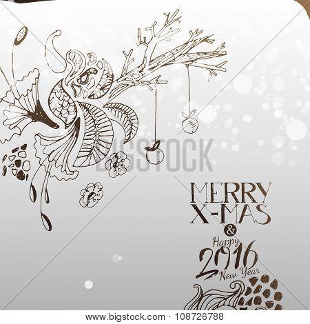 Magic Tree For Merry Xmas