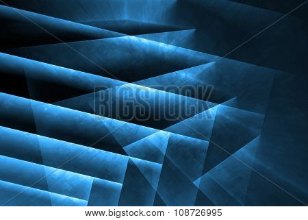 Abstract Background With Dark Polygonal Screen