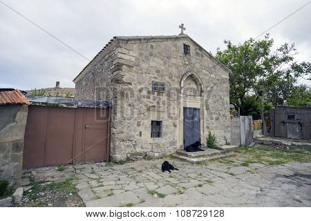 The Church Of St. George In Feodosia.