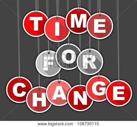 Tag Time For Change