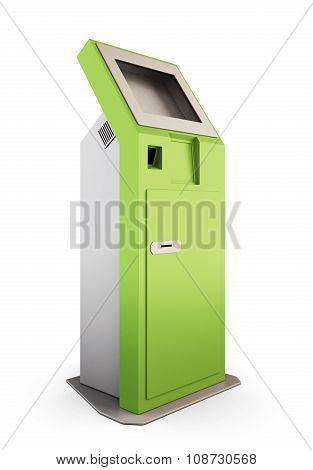 Green Information Kiosk.3D.