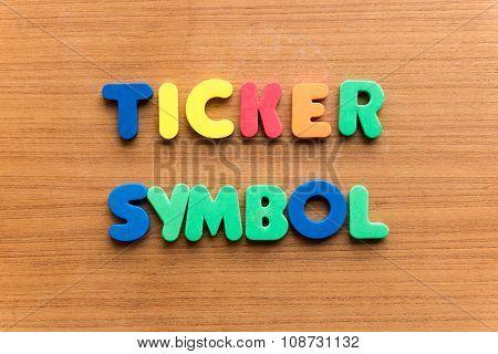 Ticker Symbol