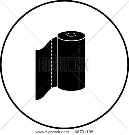 paper towels roll symbol