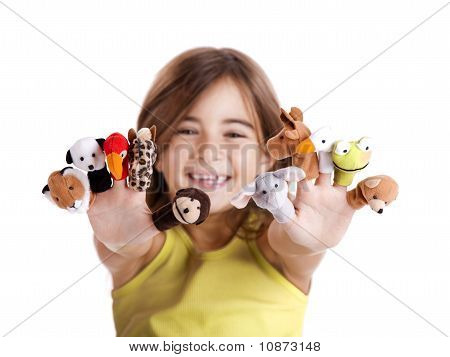 Playing With Finger Puppets