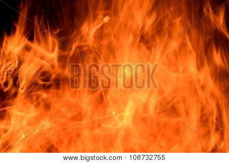 Fire Flame Background Abstract