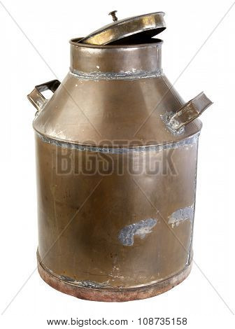 milk cans made of copper