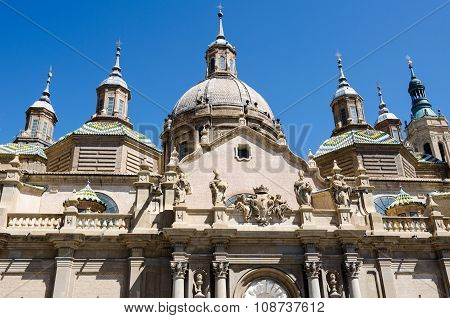 Dome and bell towers of  Cathedral