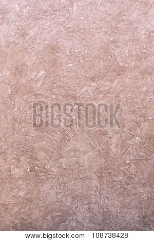 The Grunge Stucco Cement Wall Background.