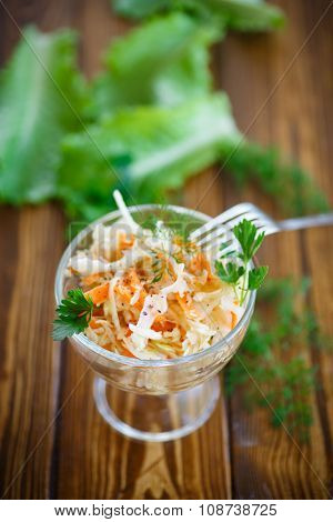 Sauerkraut With Carrots And Spices