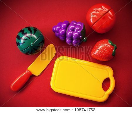 Plastic Fruits And Vegetables