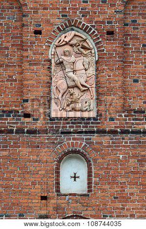 Church Of St. George. Pravdinsk (friedland), Kaliningrad Region, Russia