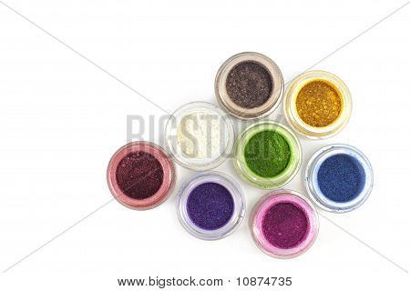 Eye make-up cosmetics.