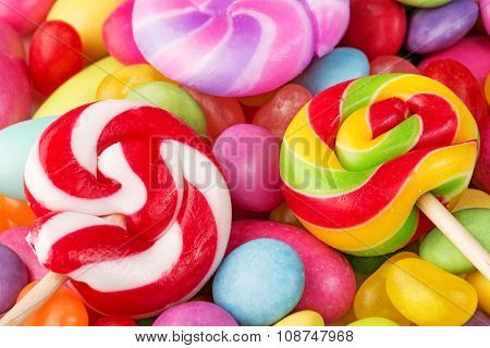 multicolor confectionery