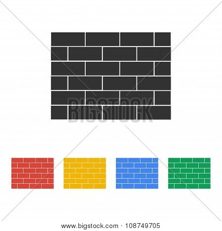 Brick Vector Icon