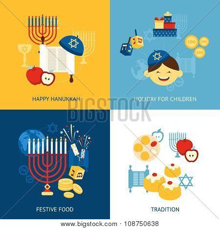 Hanukkah Design Concept