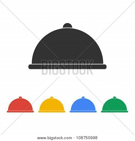 Dish Served Illustration