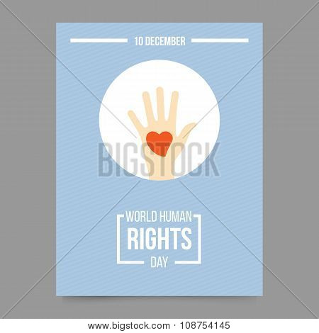 World Human Rights Day Template
