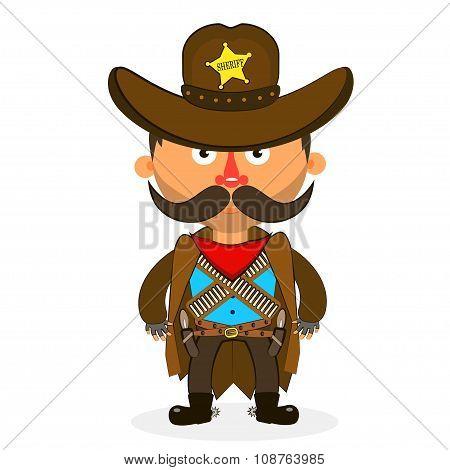 Cowboy Sheriff Pistol