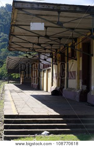 Antique Train Station