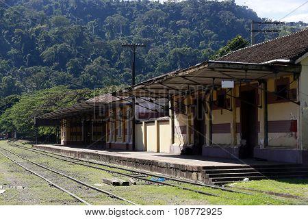 Antique Train Station