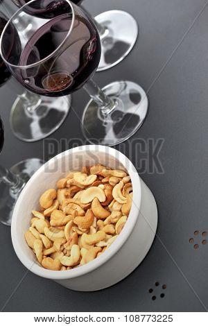 Wine And Cashew Nut