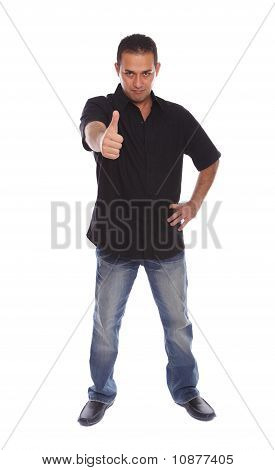Men With Thumb Up