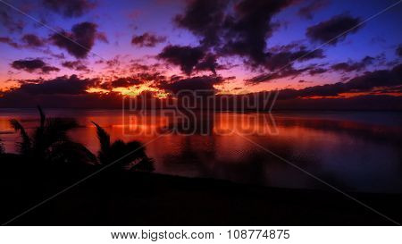 Sunset Cook Islands
