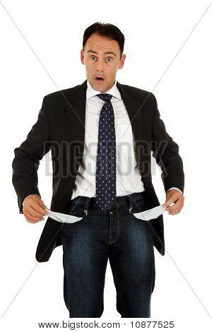 Middle Aged Caucasian Businessman